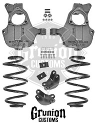 GMC Yukon XL 2014-2016 2/3 Lowering Kit NON Auto Ride McGaughys 34214