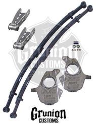 "Chevy Silverado 2/4""  Lowering Kit"