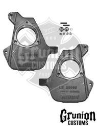 "GMC Sierra 1500 1999-2006 Front 2"" Drop Spindles 16"" + Rims McGaughys 33002"