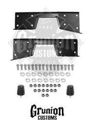 """GMC Sierra 1500 6"""" Drop Rear C-Notch Frame Kit"""