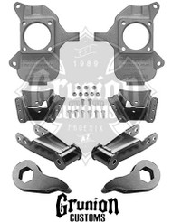 "GMC Sierra 1 Ton Dually 3/5"" Lowering Kit"
