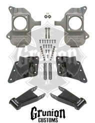 GMC Sierra 1500HD 2001-2003 2/4 Lowering Kit McGaughys 33082