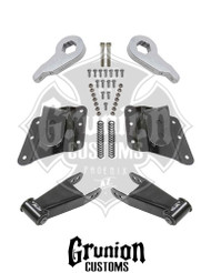 GMC Sierra 1500HD 2001-2003 2/4 Lowering Kit McGaughys 33083