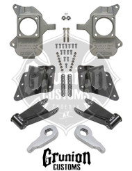 GMC Sierra 1500HD 2001-2003 3/5 Lowering Kit McGaughys 33084