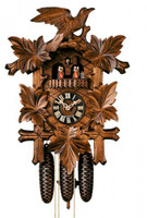 Sternreiter Bird and Leaf Cuckoo Clock 8301