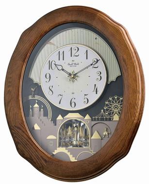 Rhythm Joyful Timecracker Oak 4MH419WU06