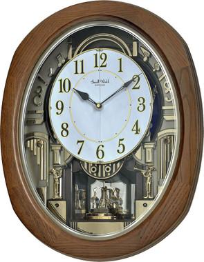 4MH414WU06 Rhythm Clock with a Closed Face