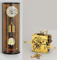 Kieninger Regulator with Moonphase Walnut -  2525-92-03