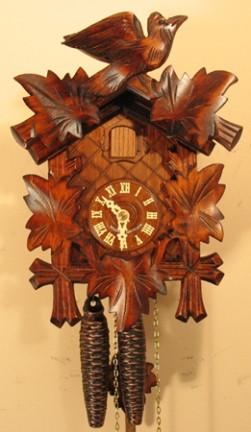Sternreiter Black Forest Bird Leaf Cuckoo Clock 1200 All About