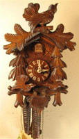 Rombach and Haas 1 Day Black Forest Pheasant Top Cuckoo Clock 1207
