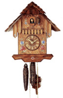 Rombach and Haas 1 Day Black Forest Chalet Cuckoo Clock 1210
