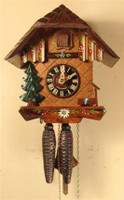 Sternreiter 1 Day Black Forest Chalet Cuckoo Clock 1246