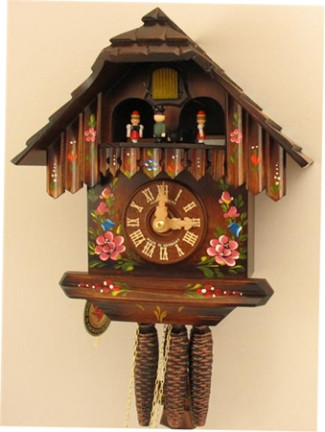 Hubert Herr 1 Day Black Forest Musical Chalet With Dancers Cuckoo Clock 1313 All About Time