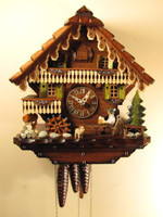 Sternreiter 1 Day Black Forest Musical Cuckoo Clock 1318