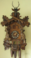 Sternreiter Black Forest Musical Hunting Cuckoo Clock 1331