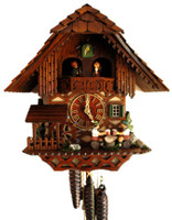Rombach and Haas Black Forest Musical Chalet Cuckoo Clock 1389