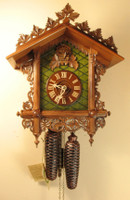 Rombach and Haas 8 Day Bahnhäusle Cuckoo Clock 8221