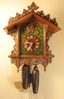 Rombach and Haas 8 Day Bahnhäusle Cuckoo Clock 8221