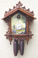 Rombach and Haas 8 Day By The River Cuckoo Clock 8222