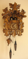 Rombach and Haas Quartz with Music and Dancers Cuckoo Clock 8250QM