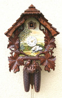 Rombach and Haas 8 Day Black Forest Chalet Cuckoo Clock 8263