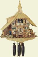 Schneider 8 Day Chalet Musical Cuckoo Clock 8TMT 1071/0
