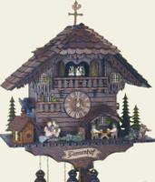 Schneider 8 Day Chalet Musical Cuckoo Clock  8TMT 1555/9