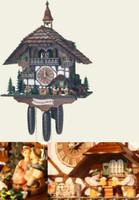 Schneider 8 Day Chalet Musical Cuckoo Clock 8TMT 1565/9