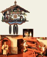 Schneider 8 Day Chalet Musical Cuckoo Clock 8TMT 3413/9