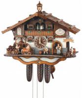 Schneider 8 Day Bavarian Beer Garden Cuckoo Clock 8TMT 3414/9