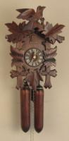 Sternreiter 8-Day Bird and Leaf Cuckoo Clock 8202S