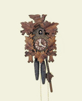 Schneider 8 Day Bird and Leaf Cuckoo Clock 8T 90/9