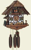Schneider 8 Day Wooden Chalet Music Cuckoo Clock 8TMT 483/9