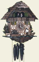 Schneider 1 Day Wooden Music Cuckoo Clock MT 565/9