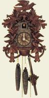 Schneider 1 Day Bird and Leaf Cuckoo Clock 872/11