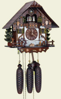 Schneider 8 Day Wooden Musical Chalet Cuckoo Clock 8TMT 6405/10