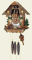 Schneider 1 Day Chalet Musical Cuckoo Clock - MT 6563/9