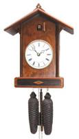 Romba and Haas 8-Day Craftsman Bahnhäusle Cuckoo Clock 8256