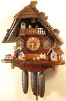 Rombach and Haas Angry Hausfrau Chalet Cuckoo Clock 8370