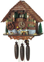 Schneider 8 Day Angry Woman Chalet Cuckoo Clock 8TMT 697/9
