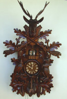 Schneider 8 Day Musical Hunting Cuckoo Clock 8TMT 295/9