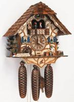 Schneider Black Forest House 8-Day Cuckoo Clock 8TMT 6413/9