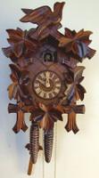 Schneider 1 Day Bird & Leaf Cuckoo Clock - 100/9