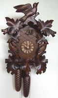 Schneider Birds & Leaf 8-Day Cuckoo Clock 8T 102/9