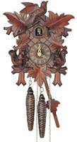 Schneider 1 Day Bird Leaf and Squirrel Cuckoo Clock- 89/11