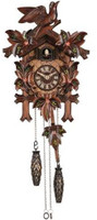 Schneider Quartz 1 Bird 5 Leaves Cuckoo Clock Q 90/10