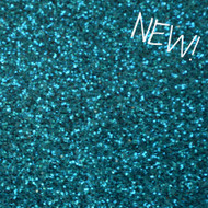 Sheet - Dark Aqua Sparkle Canvas