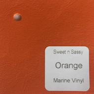 Sheet - Orange Marine