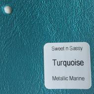 Sheet - Turquoise Metallic
