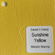 Sheet - Sunshine Yellow Metallic